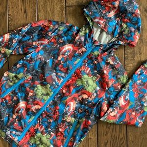 NWOT GAPxMarvel Boys' Windbuster Jacket